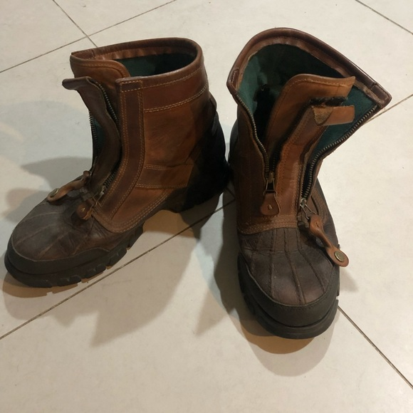 Vintage Polo Sport Boots   Poshmark